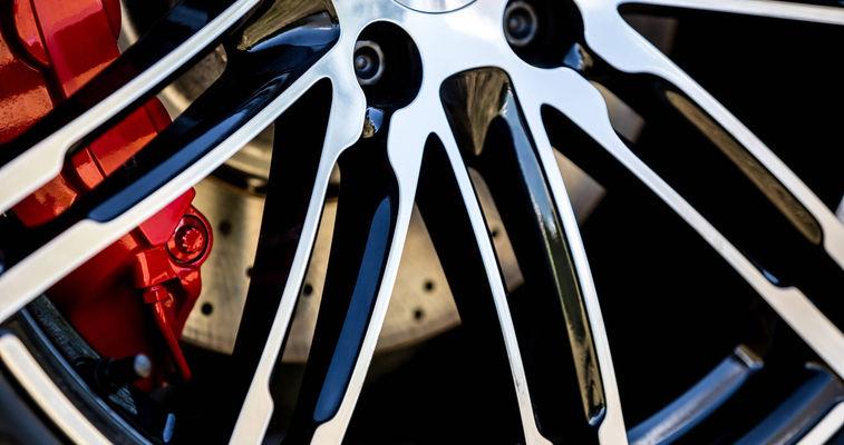 Rim with brake