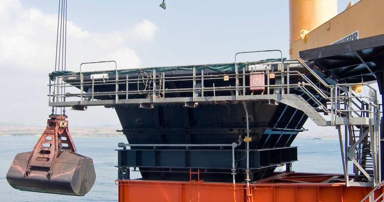 Ship loading point