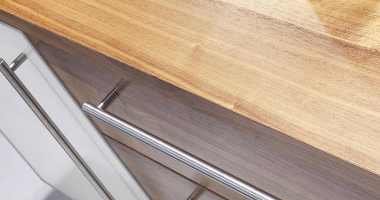 Coated wood