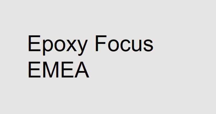 Epoxy focus EMEA