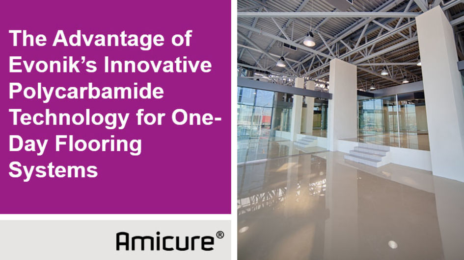 Amicure® One-day glossy flooring