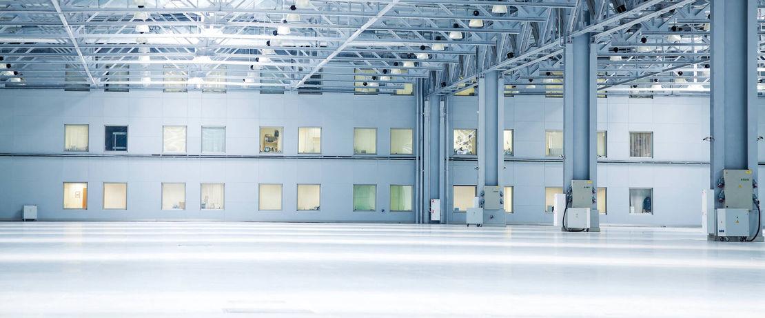 Glossy floor concrete steel coating