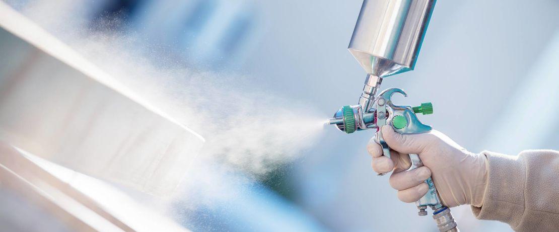 powder coating spray