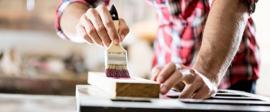 Paint application